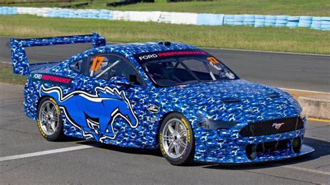 supercars    ford mustang breaks cover sporting news