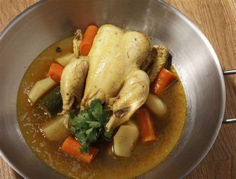 poulet au pot au raz el hanout ma 238 tre coq