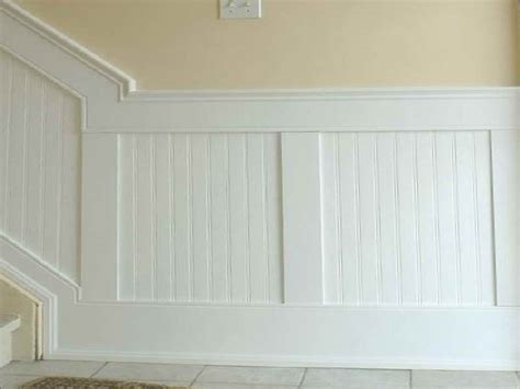 Beadboard Paneling Home Depot : 17 Best Images About Wainscoting Home Depot Installation