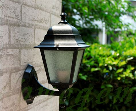 4 sieded vintage exterior outdoor wall l sconce lantern