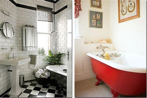 vasca da bagno  shabby chic interiors