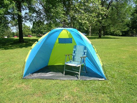 American Hawks Beach Shelter Tent With One Touch Easy