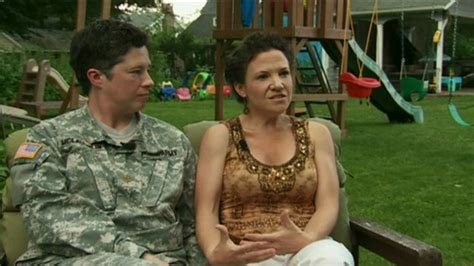 Gay Marriage Same Sex Military Couple Speaks Out Bbc News