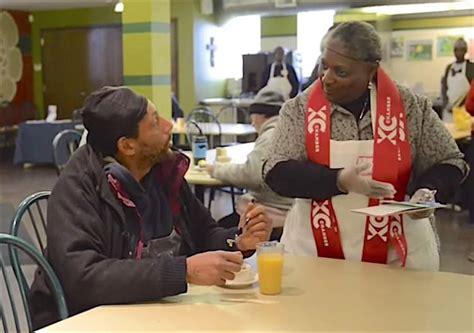 unique soup kitchen serves  homeless restaurant