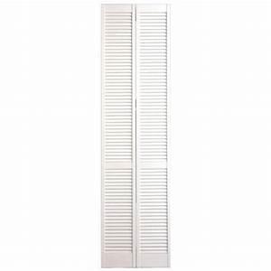 Porte Placard Pliante : placard pliant persienne blanc rangements ~ Farleysfitness.com Idées de Décoration