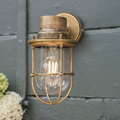 outdoor lighting garden wall lights hand finished