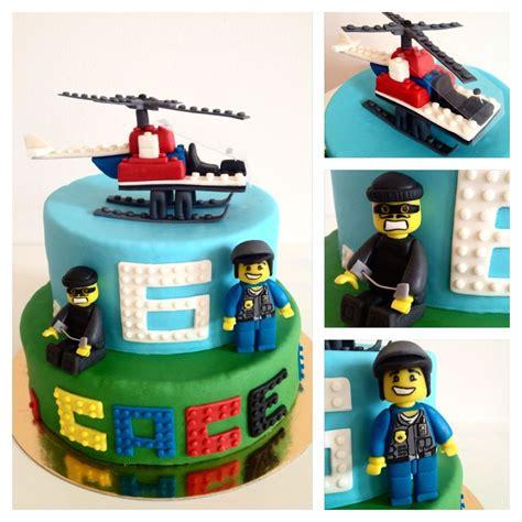 ideas  lego city cakes  pinterest lego