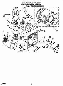 Whirlpool Ler4634eq2 Dryer Parts