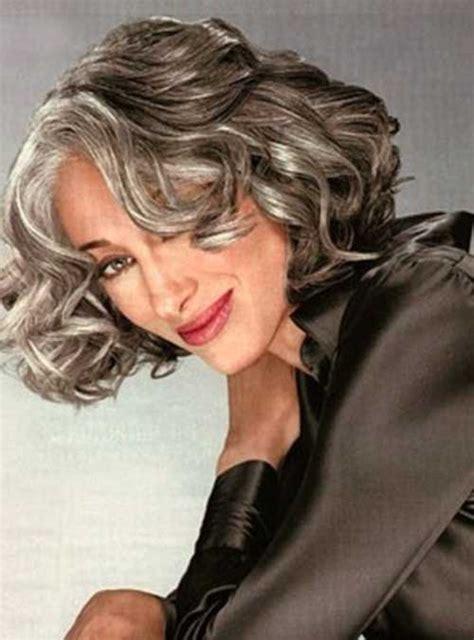 gray hairstyles  women   elle hairstyles