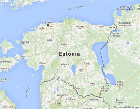 Igaunijas karte, pilsētas