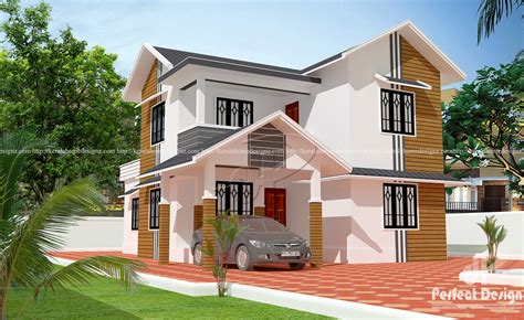 Modern Double Floor Home Design At Calicut  Kerala Home