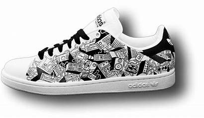 Sneakers Stan Smith Paint Adidas Sneaker Creative
