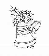 Coloring Pages Christmas Bell Printable Bells Bestcoloringpagesforkids Colouring Sheets Printables Holiday Xmas Print Pokemon sketch template