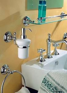 Accessoire Salle De Bain : accessoires de salle de bains porte serviette porte savon poubelle induscabel salle de ~ Teatrodelosmanantiales.com Idées de Décoration
