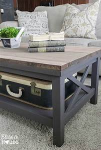 173 best diy coffee table images on pinterest home ideas With barn style coffee table