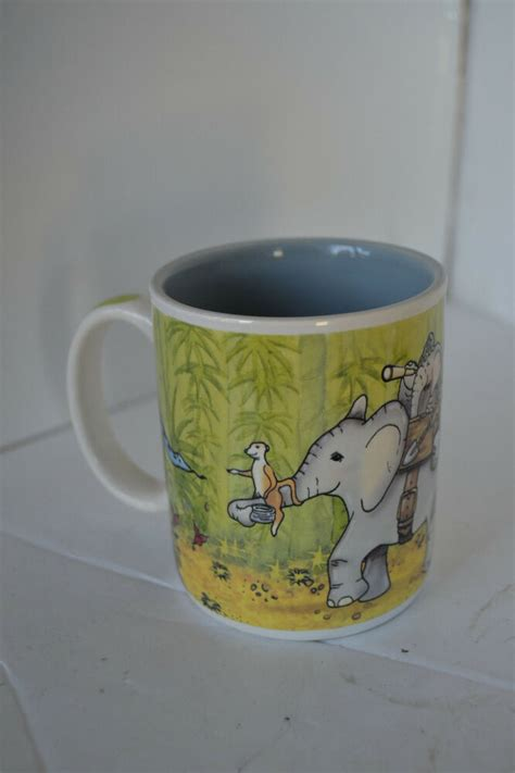 That first cup of coffee in the morning — we know how vital it can be to start off your day! Tuskers African Elephant Coffee Mug Cup   eBay