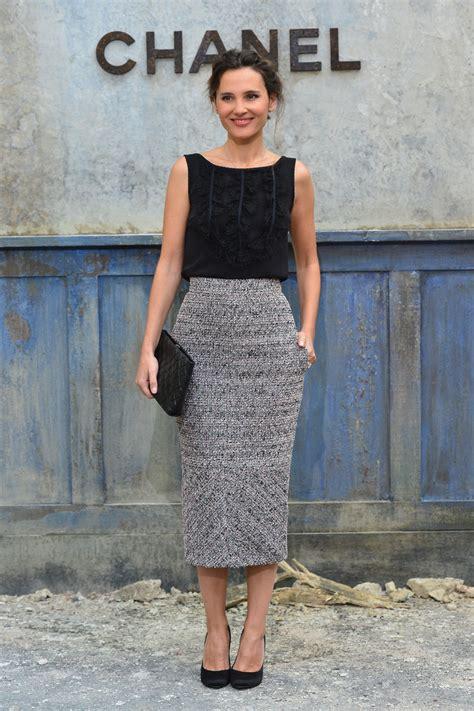 Virginie Ledoyen Pencil Skirt Virginie Ledoyen Looks