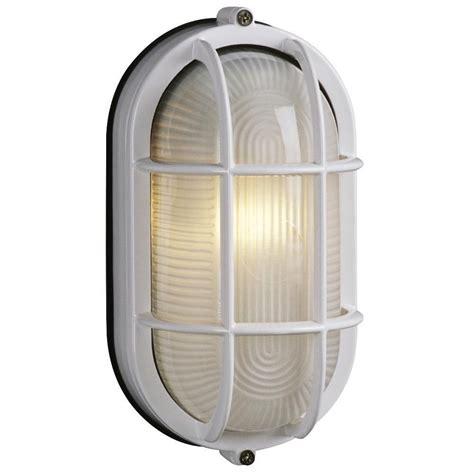 filament design negron 1 light outdoor white wall light