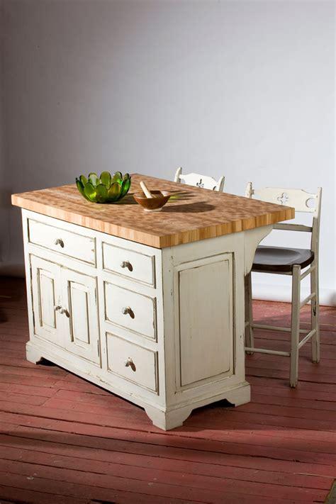 ilots cuisine meubles sur mesure en bois massif et bois ancien
