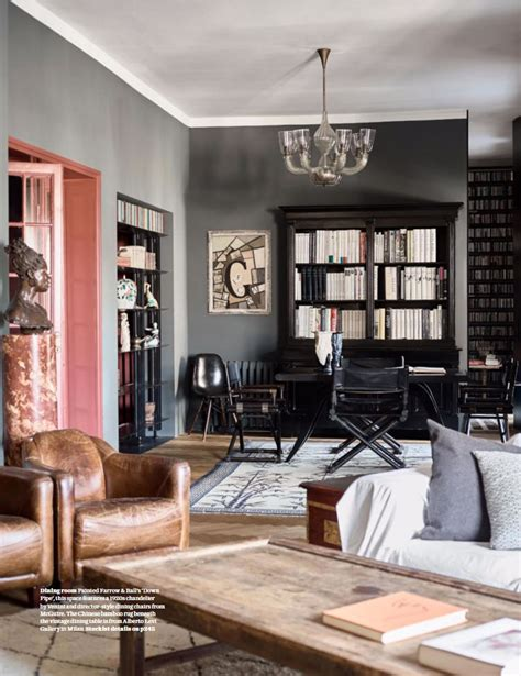 living room painted  farrow ball  pipe interiors  color