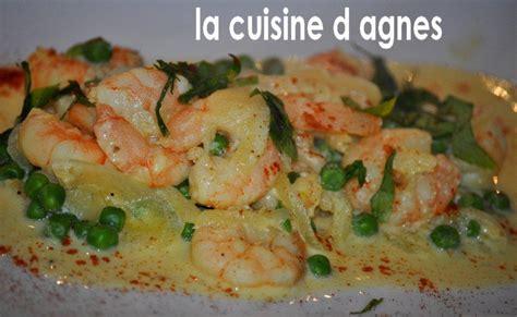 cuisiner des crevettes cuites crevettes sautées à la crème safranée la cuisine d