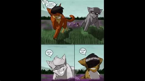 funny warrior cats comics xd laugh  face  idc