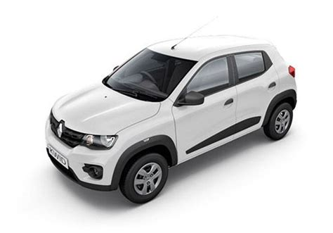 renault kwid white colour renault kwid rxt driver airbag option price check