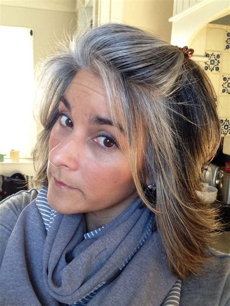 blonde highlights  gray hair ideas images