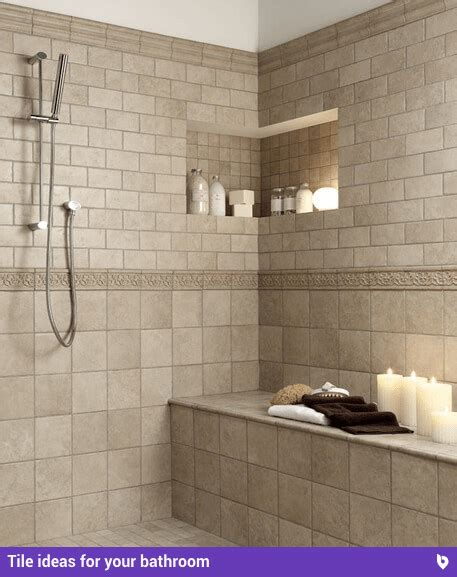 refresh  home   beautiful bathroom tile ideas