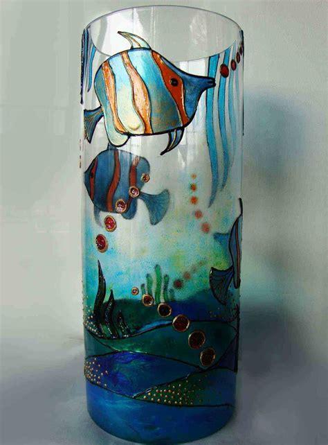 glass painting craft ideas  enhance  glass
