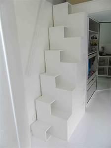 Les Queues d'Arondes Escalier japonais
