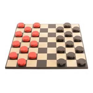 Bold Checkers Classic Red v Shadow Black