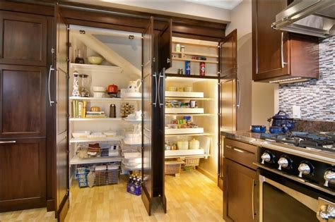 built in pantry kitchen remodel recessed built in pantry traditional