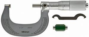 Mitutoyo Outside Micrometer  Manual 1