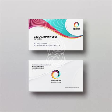 business cards standard kinabalu print shop page