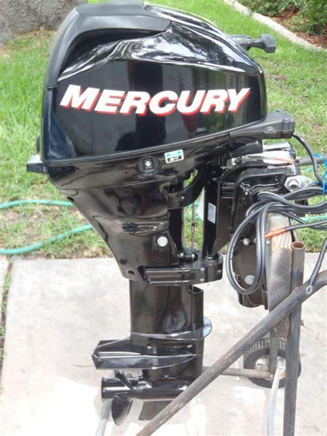 hp mercury elpt  stroke outboard  sale