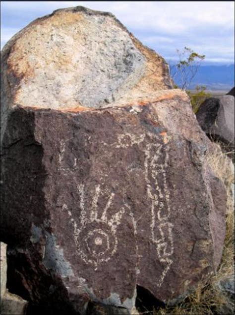ancient petroglyphs pictographs  cave drawings