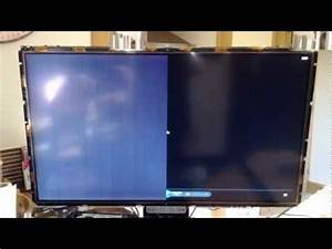 How To Fix / Repair Vertical Lines On Half Of LCD Tv ...