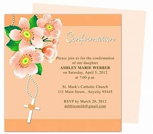 17 best images about confirmation invitations on pinterest With confirmation invites templates