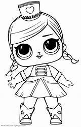 Lol Doll Coloring Pages Surprise Getcoloringpages sketch template