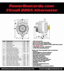 Technical Info  U0026 Alternator Installation Instructions