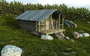 tuto blender creer d39une cabane en bois avec blender 27 With creation de maison 3d 7 blender pour le jeu vido