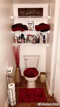 red bathroom ideas Best 25+ Red bathroom decor ideas on Pinterest | Black ...
