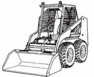 Bobcat 741 742 743 743ds Loader Service Repair Manual