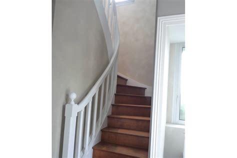 peinture pour cuisine blanche rénovation séjour et cage d 39 escalier yves clément