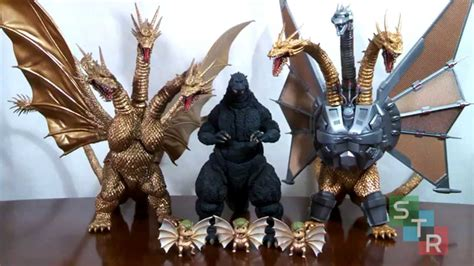 King of the monsters, 4k, #22 with search keywords. S.H. MonsterArts Mecha King Ghidorah Review - YouTube