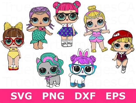 lol clipart lol doll svg lol surprise clipart lol