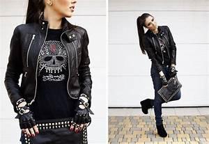 1001 visions inspirantes pour adopter le look rock femme With vêtements rock femme