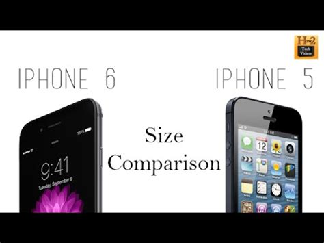 iphone 6 size comparison iphone 6 vs iphone 5 5s size comparison 15083