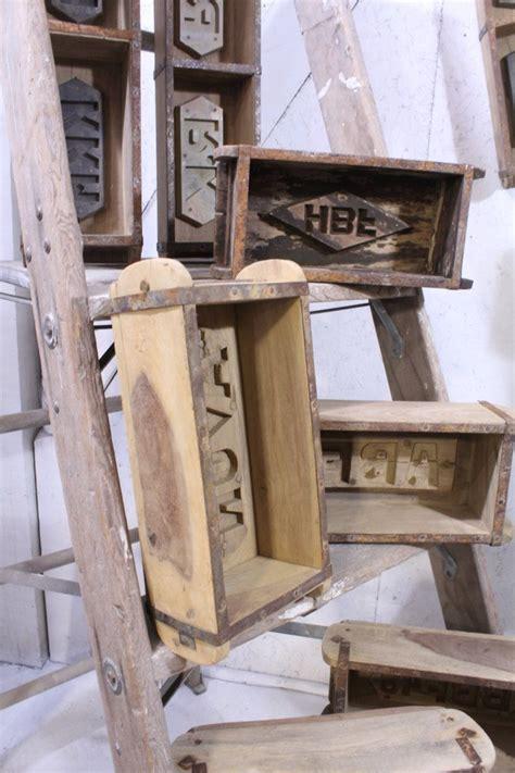 Rustic Wooden Antique Brick Mold Primitive Country Decor